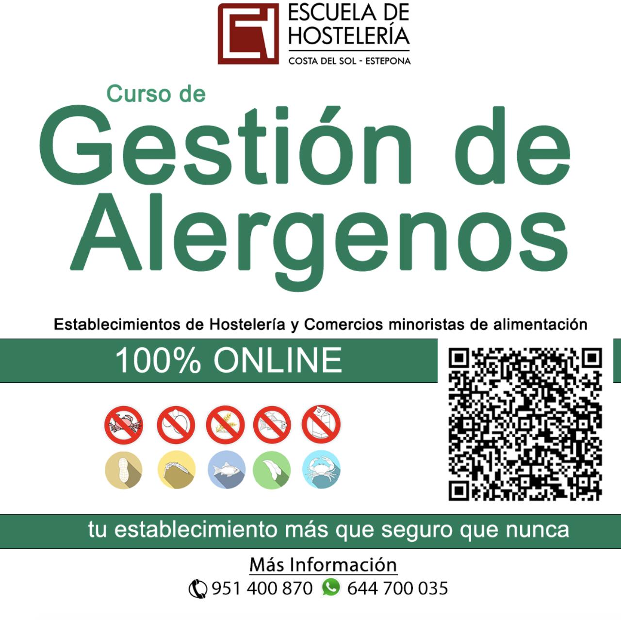 Gestion Básica de Alergenos