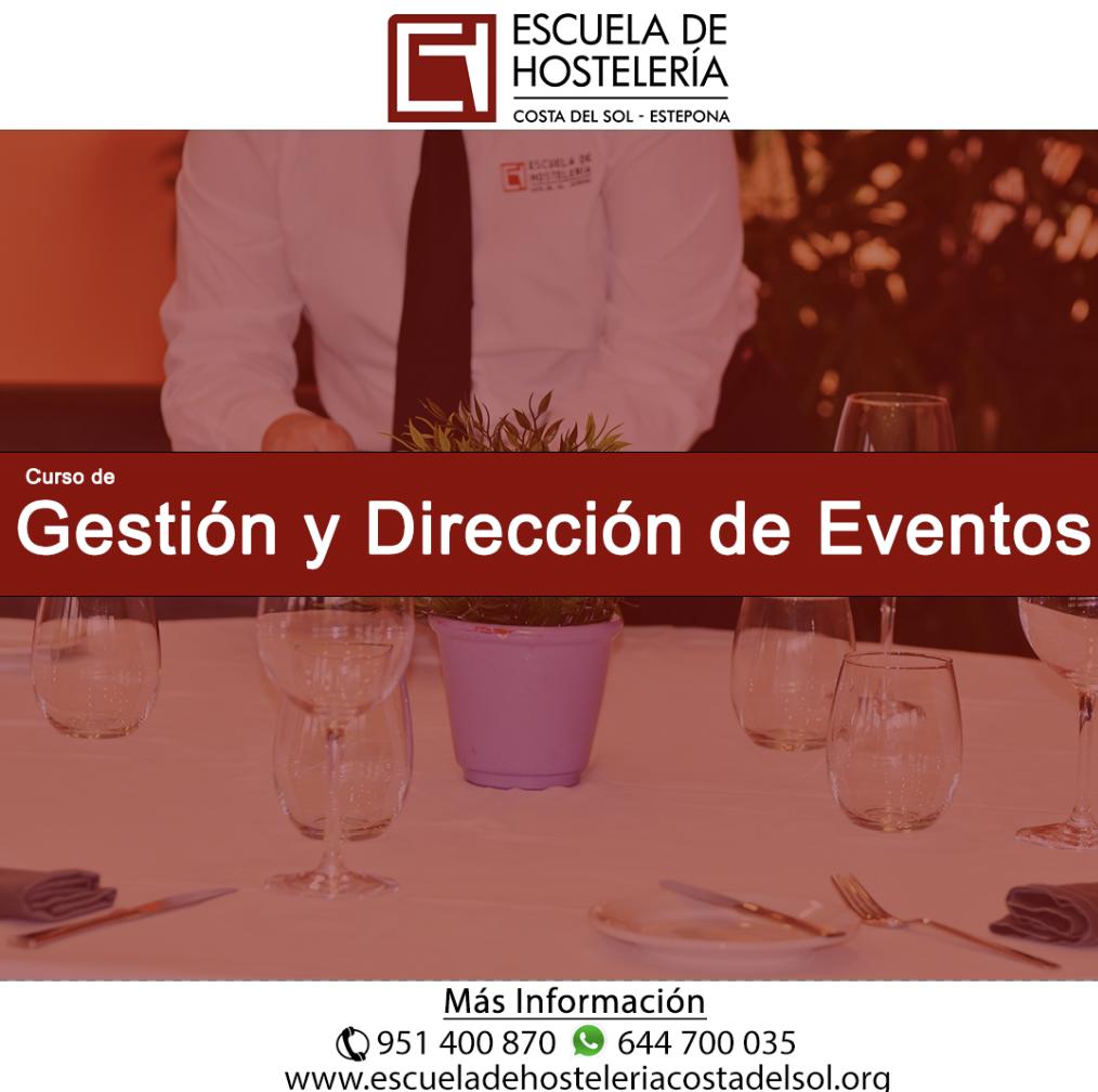Gestión y dirección de eventos